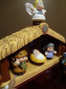 11 - Little People Nativity