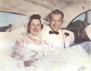 My beautiful grandparents!
