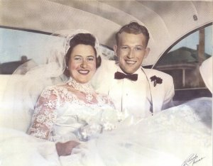 My beautiful grandparents!