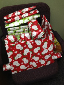 7 - Presents ready for a party this weekend!