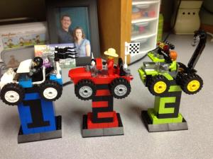 Lego Trophies!