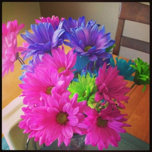 May Day flowers from my mom!