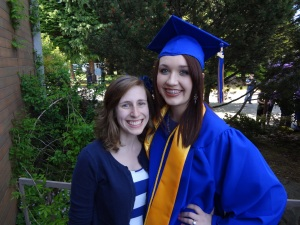 Celebrating Jessica's Graduation!