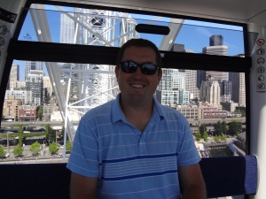 Jeremy on the Great Wheel!