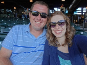 Us at the Ballpark!