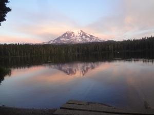 Sunset at Mt. Adams