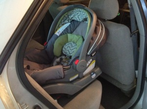 Installed Car Seat!