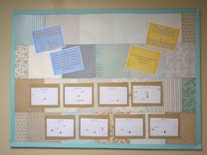 New class bulletin board!