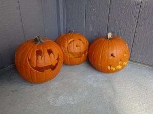 Three Pumpkins!