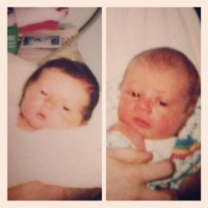 Baby Jeremy & Baby Amy