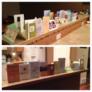 The forest of greeting cards!