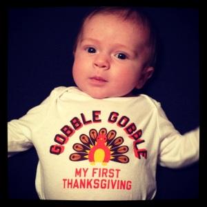Gobble Gobble! Our Little Turkey!