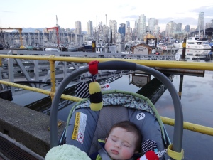 Baby in the big city!