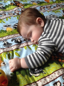 Tummy time can tucker a baby out