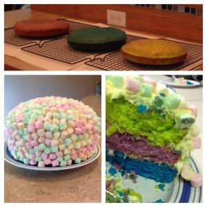 Marshmallow Cake!