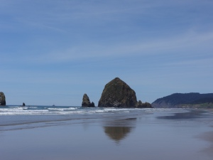 A picture perfect day at Cannon Beach