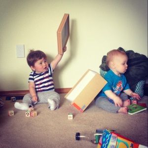 Play date with Nolan