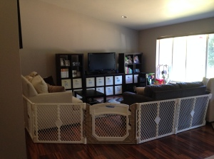 A new look for the family room