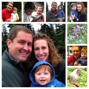 Owen's first visit to Mt. Rainier