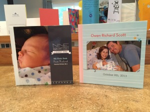 Pregnancy Photo Book and Owen's First Year Photo Book