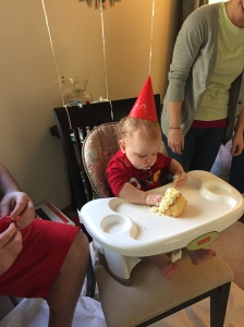 Another little Scott turns one! Celebrating with my adorable nephew!