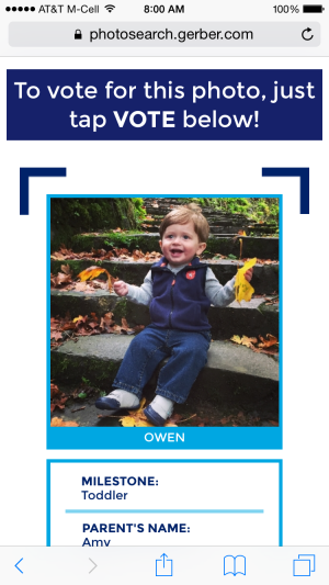 Vote for Owen!