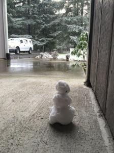 Jeremy's snowman