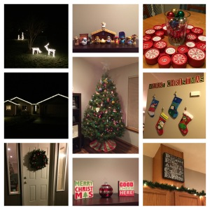 It's beginning to look a lot like Christmas around here!