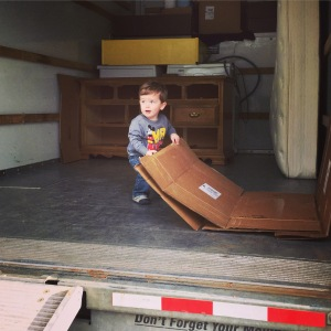 Helping Auntie and Uncle move