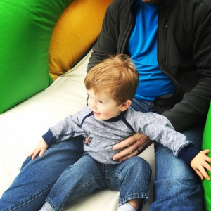 Testing the bounce house