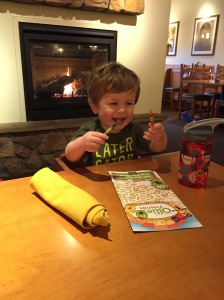 Coloring fun at Olive Garden