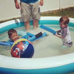 Water boys!