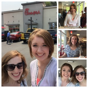 Tacoma Adventures with Jessica for some Chick-fil-A