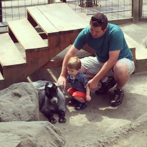Loving our family time at the Oregon Zoo