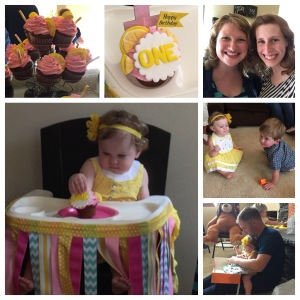 Maggie threw an adorble Pink Lemonade themed party for Summer's first birthday! What a special little lady!