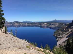 Loving the view of Crater Lake