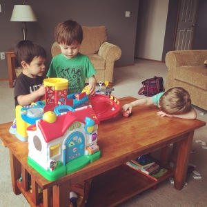 Play date with good friends