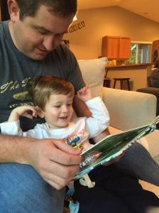 Loving his new books!