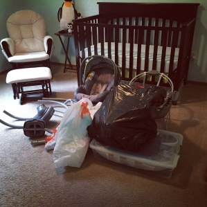 The final phase of baby prep is underway!