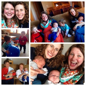 A wonderful time with Maggie May and her kiddos