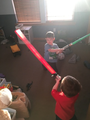 Light Saber Battles
